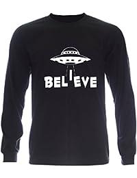 PALLAS Unisex's UFO Believe T-Shirt