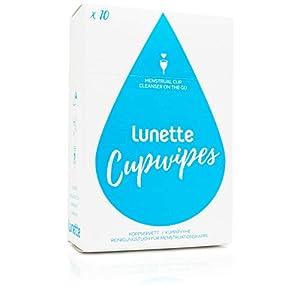 Lunette Cupwipe Reinigungstücher (10er-Pack)