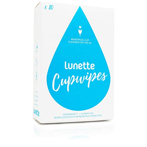Lunette | Cupwipe | 1 x 10 pack