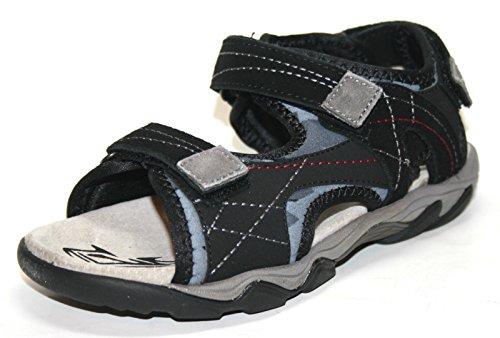 Sabaria by juge 34.8465 pour les chaussures pour enfants, sandales outdoor - Schwarz (schwarz/kirs/shark)