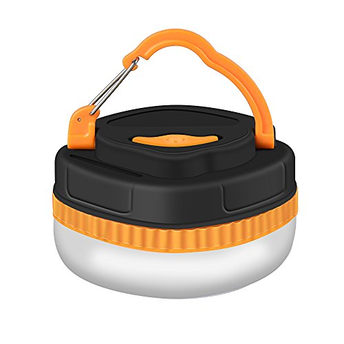Preisvergleich Produktbild ThorFire LED Campinglampe Laterne Arbeitsleuchte Taschenlampen Notfallleuchte 180LMMini Zeltlampe mit 4 Leuchtenmodi Haken und Magnet Basis, Eignet für Ferien, Wandern, Angeln
