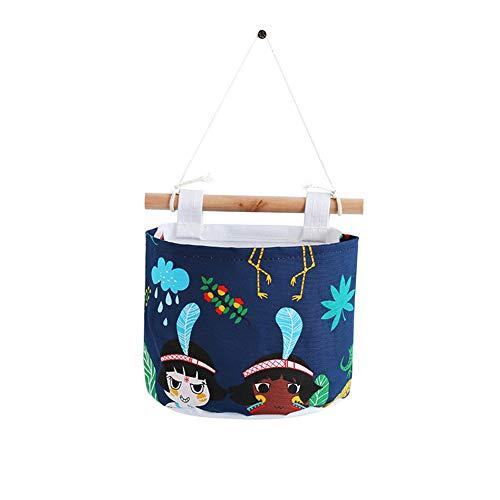 zer klein DIY Aufbewahrungstasche tropisches Thema Wand Hängenden Wandbehang Ordnungssysteme Hängender Organizer Spielzeug Container Dekor Tasche ()