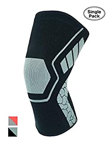 Atercel Knee Support, Knee Brace Compression Sleeve for Arthritis, Meniscus Tear, Running, Hiking, Basketball and More - for Men & Women