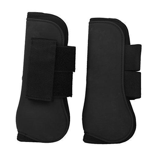 1-paire-gutres-equipements-de-protection-soutien-de-jambe-avant-pour-cheval-noir