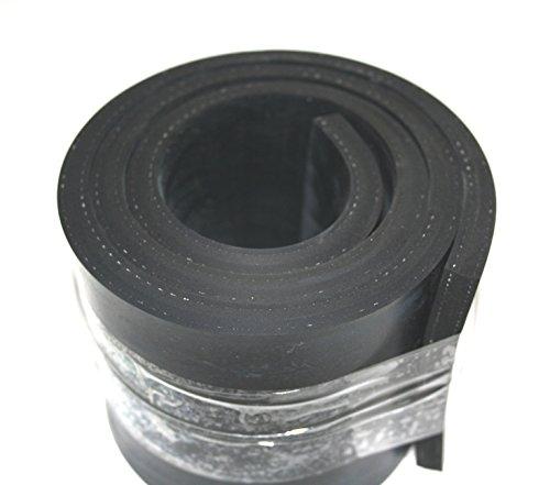 1000mm x 100mm x 10mm Gummistreifen mit Gewebe (Gummi-gewebe)
