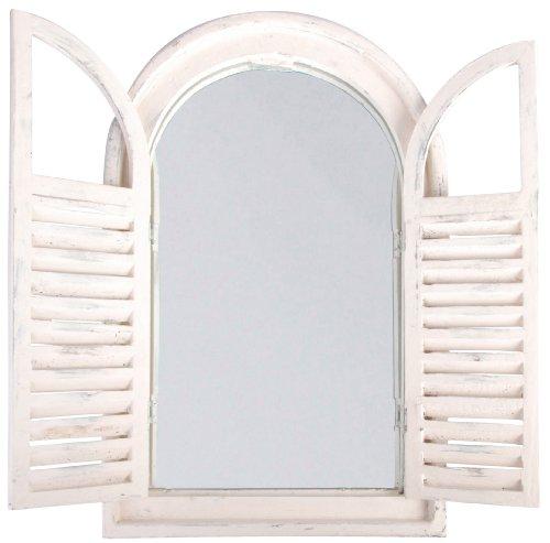Esschert-Design-WD05-37-x-5-x-59-cm-madera-y-cristal-envejecido-espejo-con-francs-puertas-blanco