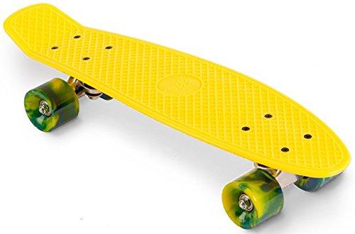 Streetsurfing Street Surfing Skateboard 22 Beach Board, Yellow, M (Street Board Skateboard)