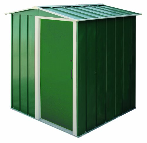 Tepro Metallgerätehaus Eco, grün/weiß, 122.1x161.7x181.9 cm, 7228