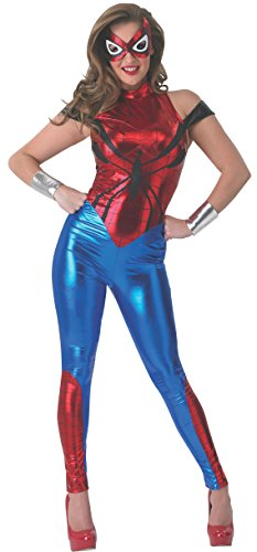 Rubie 's Offizielles Damen Marvel Spider-Girl Catsuit, Erwachsenen-Kostüm – Medium UK 12–14