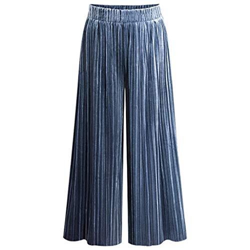 KiyomiQvQ Damen Lange Hose Weite Hose Pants Streetwear Freizeithose Laufhose Schlaghose mit Taschen Pumphose Slimming Sommerhose Haremshose Yogahose Leichte Pluderhose Ballonhose Stoffhose