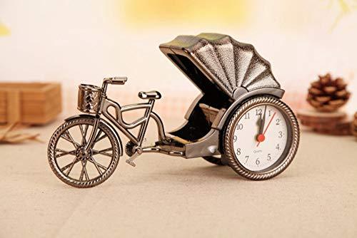 XUEQQ wecker Dreirad Alarm Lock Retro-Mode Persönlichkeit kreative Modell Alarm Clock Home Geschenke