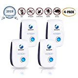 Eashy Ultrasonic Pest Repellent, 2019 Upgraded Pest Control Repeller Plug in Indoor Usage