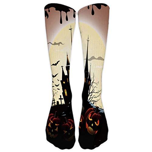SuperSU Damen Herren Socken Halloween 3D Muster, Baumwolle Socken Männer Frauen, Modische Sport Socken Mehrfarbig Klassisch, Mittlerer Knöchel Socken Lustige Socken -