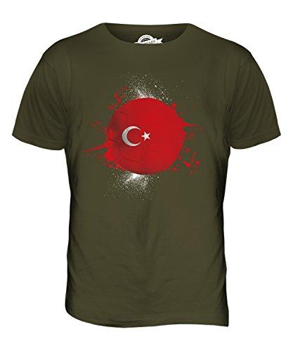 CandyMix Türkei Fußball Herren T Shirt Khaki Grün
