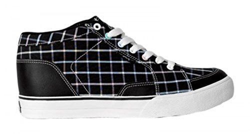 Circa Skateboard Woman Schuhe Pusher Black / Black South Beach Plaid - C1rca Shoes, Schuhgrösse:36.5 (Schuhe Womens Lakai)