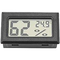 Garosa Medidor De Temperatura Rápido con Monitor Incorporado De Humedad Preciso y Termómetro De Higrómetro Digital