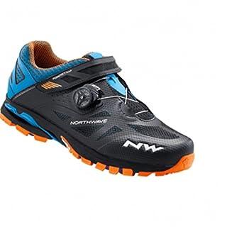 Northwave SPIDER PLUS 2 Mountain Bike Shoes, antra-black-orange, Size:gr. 48