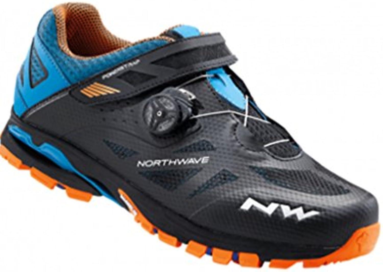 Northwave Spider Plus 2 - Zapatillas - naranja/negro Talla 45 2017  -
