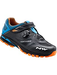 Northwave Spider Plus 2 - Zapatillas - naranja/negro 2017