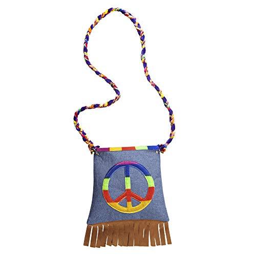 Widmann - Hippie Handtasche - Peace-zeichen-geldbörse
