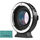 Andoer Viltrox M2Auto Focus Lens Mount Adapter 0.71x for Canon EOS EF Lens to Micro Four Thirds (MTF, M4/3) Camera