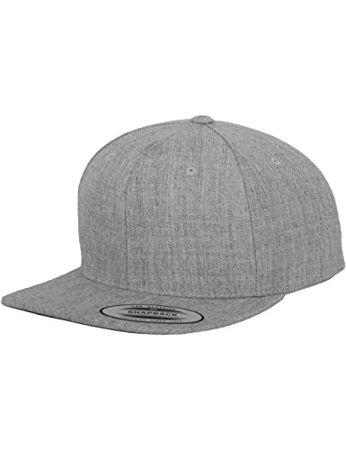 Flexfit Yupoong Classic Snapback, Farbe Heather, Größe Kids