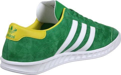 adidas Hamburg chaussures green-footwear white-eqt yellow