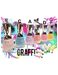 1 VERNIS GRAFFITI 16 ML 6 COULEURS MAQUILLAGE BEAUTE PACK 3