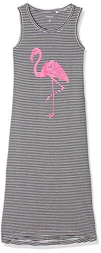 id Nkfvida Maxi Dress Noos, Mehrfarbig (Sky Captain Stripes: Sky/White), 98 (Maxi-kleid Für Kleine Mädchen)