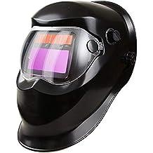 LAIABOR Careta Soldar Automatica Oscurecimiento Máscara De Soldadores Caretas para Soldar De Recambio Automático ...