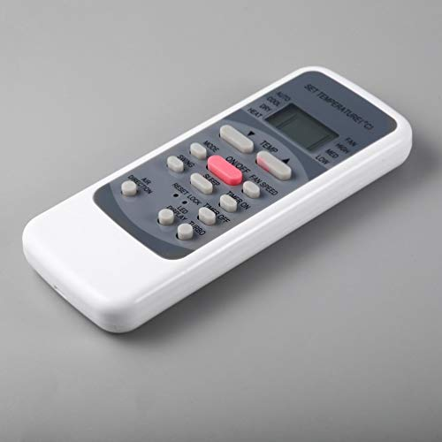 Universal-Fernbedienung für Klimaanlagen als Ersatz für Media R51M R51 / E R51 / CE R51M / CE R51D / E R51M / BGE - Grau