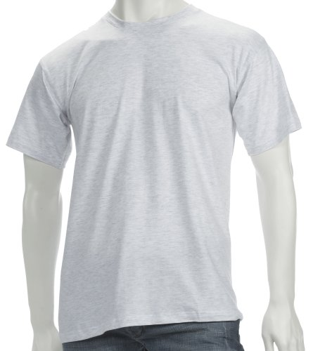 Coole Fun T-Shirts T-Shirt, Größe M, ash - 2007-basic-mode