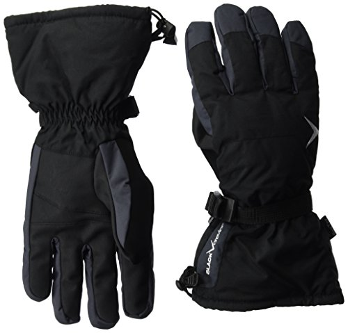 Black Crevice Erwachsene Handschuhe, Mehrfarbig (schwarz/grau), L