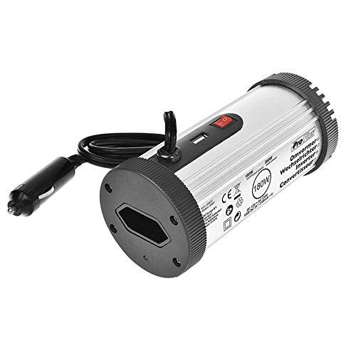 Preisvergleich Produktbild ProPlus 450077 Spannungswandler, 12 V-230 V 180 W mit USB