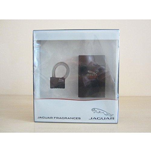 Jaguar Vision II Confezione Regalo 100ml EDT Spray + Lucchetto da Viaggio