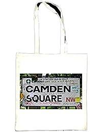 Camden Square Amy Winehouse Tribute Tote Bag