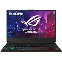 ASUS ROG Zephyrus S GX531GXR-AZ063T - Ordenador portátil Gaming de 15.6 FullHD (Intel Core i7-9750H, 24 GB RAM, 1 TB SSD, GeForce RTX 2080-8GB, Windows 10 Home) negro - Teclado QWERTY Español