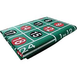 Belukies Roulette - Roulette De Énorme - Ensemble De Roulette pour Jeux De Casino - Ensemble Complet De Roulette À Londres (60 120cm)
