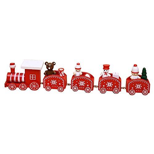 Weihnachts Spielzeug Loveso Elektrisch Züge Trains Christmas Toys Decorations Dekoration Für Kinder (B)