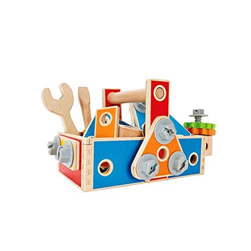 Carpenter Tool Box Kinder Demontage Montage Lernspielzeug (Farbe : Bunte, größe : L)