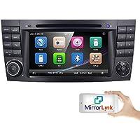 Coche GPS DVD USB SD Bluetooth Autoradio 2 Din NAVI para Mercedes-Benz W211 W219