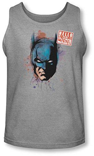 Batman - - Männer Hallo Tank-Top Heather