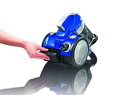 Cleanmaxx 09897 Zyklon-Staubsauger   700 W   Beutellos   Haushaltsreinigung   Power 3000   Bodenreinigung, Für Alle Böden, blau / silber -