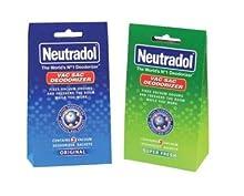 A1Sonic Quality for less Neutradol Vac Sac Deodorizer 3 Vacuum Deodorizer Sachets Original/Super Fresh