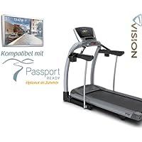 Preisvergleich für Vision Fitness TF 20 Elegant Laufband inkl. Gratis Polar Pulsuhr und Brustgurt
