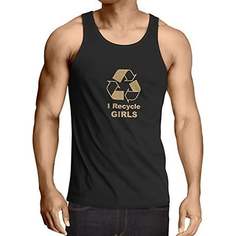 N4036V Vest I recycle Girls