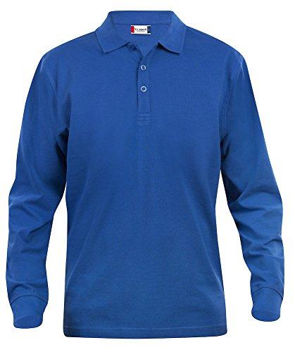 Clique Clothing-Polo Manga Larga Hombre Camisa