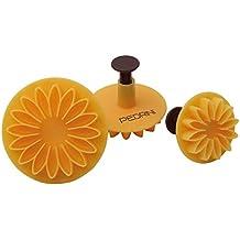 Pedrini 03GD252 pastry & cake decorating tool set - pastry & cake decorating tool sets (De plástico, Amarillo)