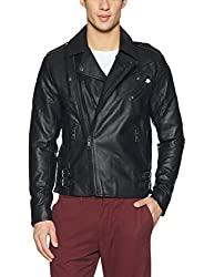 Jack & Jones Mens Jacket (12121312_Black_XX-Large)