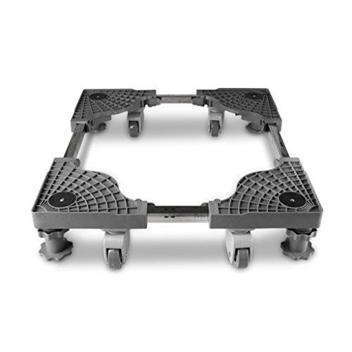 YXF, Basis für Möbelhandling Untere bewegliche Multifunktionsklammer, unterer waschender Ofen, hochfester Edelstahl-Kühlraumhalter, 45-63cm * 45.63cm * 8-16cm Wow -
